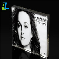 acrylic perspex multi photo collage picture frame
