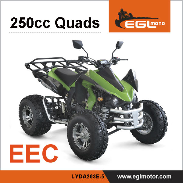 EEC Certified New 250cc Quad Atv Kawasaki