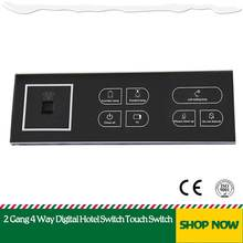 Hotel Touch Switch Conjoined Switch Electrical Wall Switches