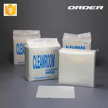 High Quality Absorbency 55% Woodpulp/ 45% Pet Anti-ESD Cleanroom Cloth