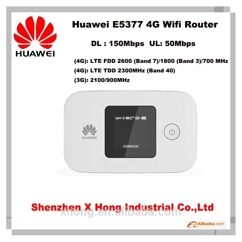 long range Wireless network routers Huawei E5377Bs-605 Mobile WiFi Routers With SIM Card Slot Huawei E5377
