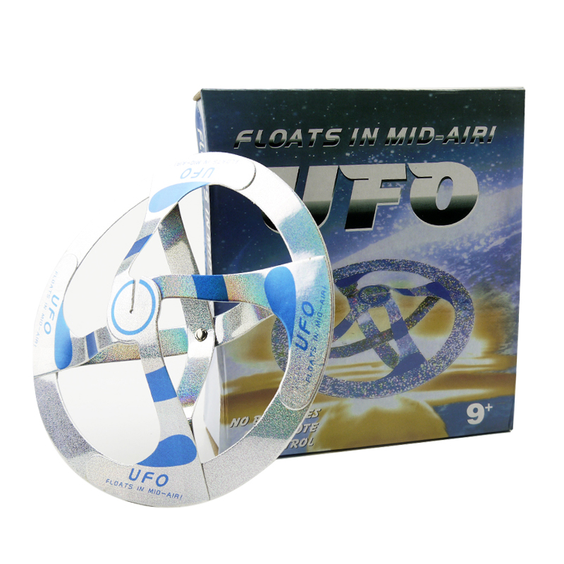 Magical toy cool trick UFO floating flying disk saucer//