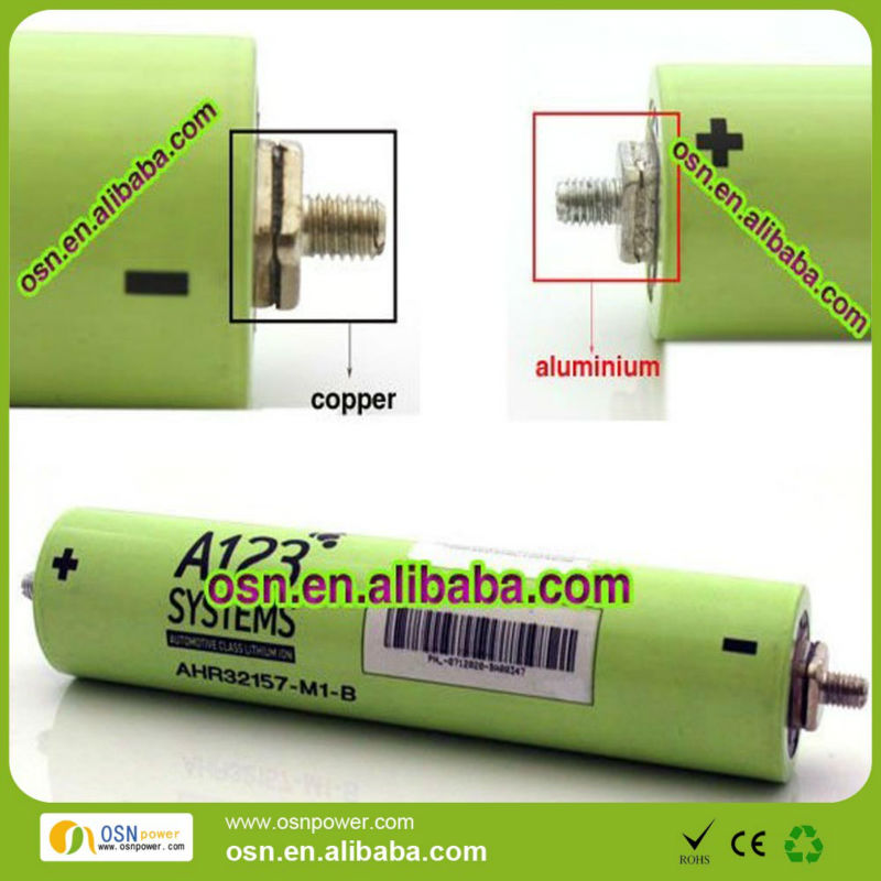 lifepo4 A123 32157 battery cell 8Ah 3.3V