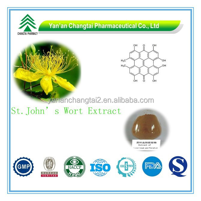 GMP Factory Supply Organic St.John's Wort Extract