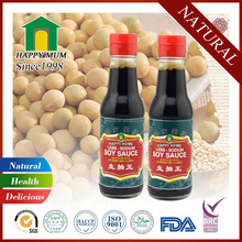 Healthy MSG Free Soy Sauce Factory 150ml Mini Bottle