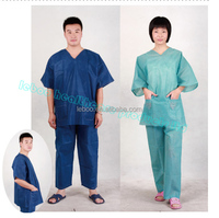 disposable male/female pajama body suit