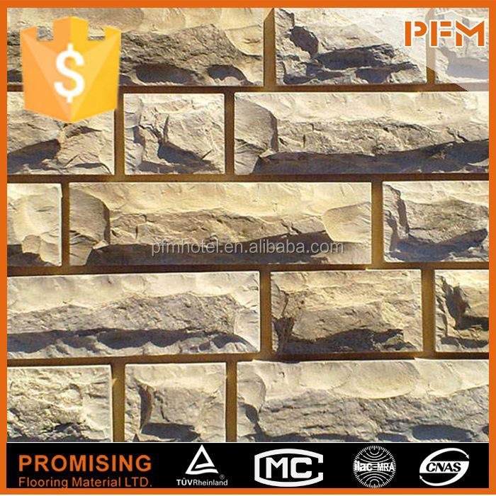 Stacked Slate wall decoration landscaping stone