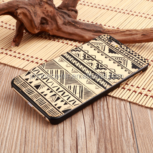 Stylish laser engraving custom design 100% natural wood phone cover for iPhone 5, for iPhone 6,funny phone case
