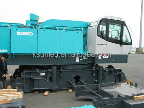 used almost new 250ton Kobelco CKE2500 Crawler crane for sale in shanghai