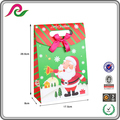 China Manufactures Custom Promotional Paper Gift Christmas Bag with Handles