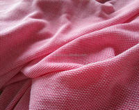 Cotton Single Jersey knitted pique fabric For Garment