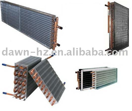 heat exchangers / condensers / evaporators for refrigeration parts
