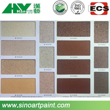 cheap and light weight special brick effect wall paint for building