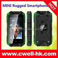 3G Android IP54 Waterproof Smartphone J5 mini small size mobile phone dual sim