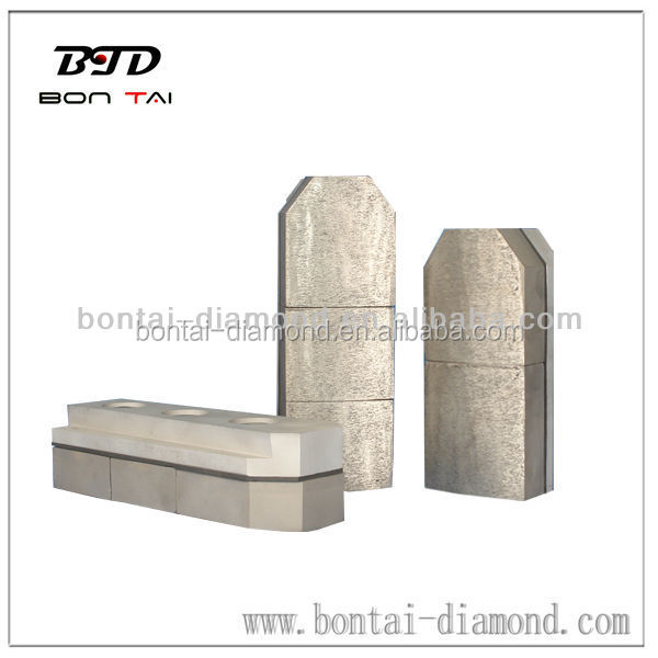 diamond fickert metal bond polishing block for concrete