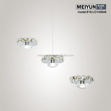 NEW lighting pendant lamp lighting Chandelier made in china crystal flat chandelier light