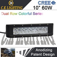 Newest design 10inch off road cree led light bar made in china atv led offroad light bar