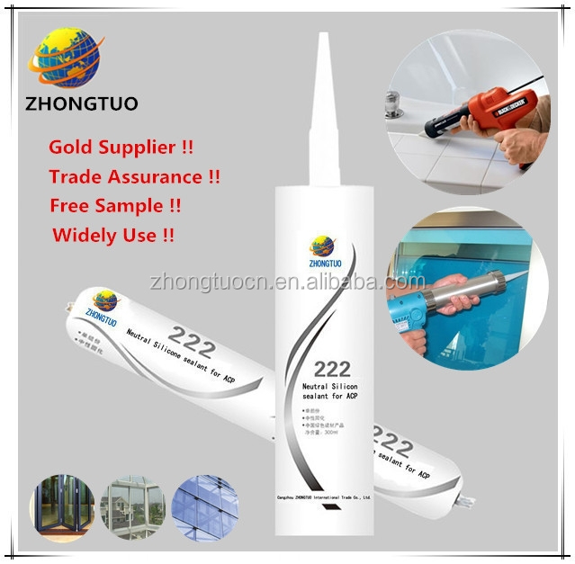 300ml GP door and window silicone sealant
