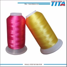 120d/2 3000m machine use polyester embroidery thread