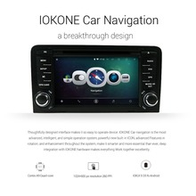 "IOKONE Android Car DVD for AUDI A3 2003-2013 Car GPS Navigation With 7"" Touch Screen Car Radio DVD Player Multimedia System"