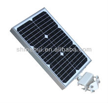 IP65 CE&ROHS approved aluminum good quality solar garden light pole luminaire