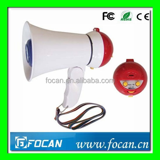 New White Loud Speaker 5W Megaphone Bull Horn