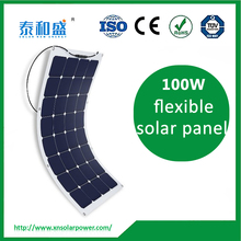 large stock! factory direct 100w 150w 200w semi flexible solar panel from China manufacturer cheap price for sale
