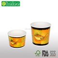 12 oz 16 oz paper soup cup hot food cup with vented paper lid streetside design