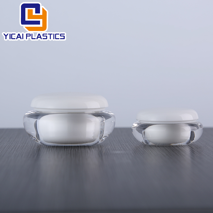 20g/50 Refillable Bottles Plastic Empty Makeup Jar Pot Travel Face Cream/Lotion/Cosmetic Container