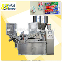 fully-auto plastic tube packing machine