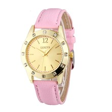 Diamond studded watch for girl the most popular gift watch in stock