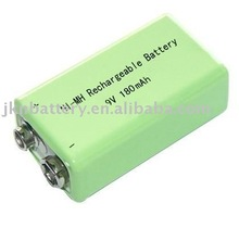 rechargeable Ni-mh 9V 180mah battery