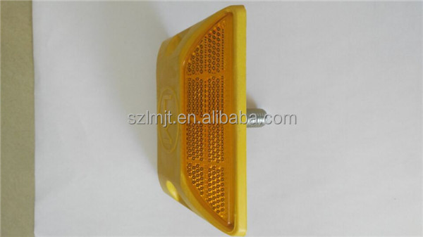 Wholesale double side super bright lattice reflectors within spike plastic road stud