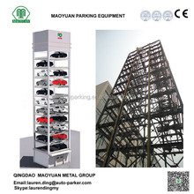 High Quality ! 50 Cars Fork Exchange Comb Tower Parking System from China