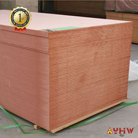 9mm thick good quality pink fire proofing wood MDF