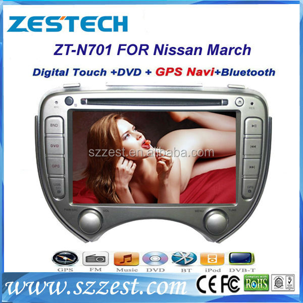 ZESTECH 7 inch autoradio parts Car accessories for Nissan March with gps navigation system