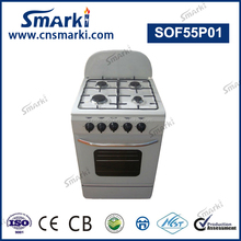 SOF66P01 24 Inch 60*60cm 4 Gas Burners Free Standing Gas Cooker with Oven
