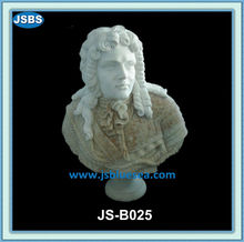 Hand Carved White Famous Marble Busts Of Beethoven