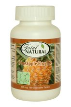 Pineapple Enzyme - 500mg 180 Chewable Tablets