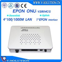 CE Certificated 4GE GEPON ONU Fiber Optic Node FTTH Modem Compatible with Huawei/ZTE/Fiberhome OLT Made in China