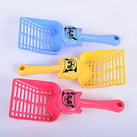 Plastic Cat Litter Scoop Colorful Cat Shovel