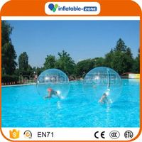 Factory price inflatable pvc color-joints water walking ball pvc inflatable water walking balls