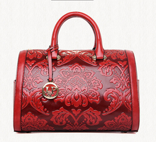 Made in China 2016 Newest PU Bag Ex-factory Price lady bag Chinese Style Embossed pu bag