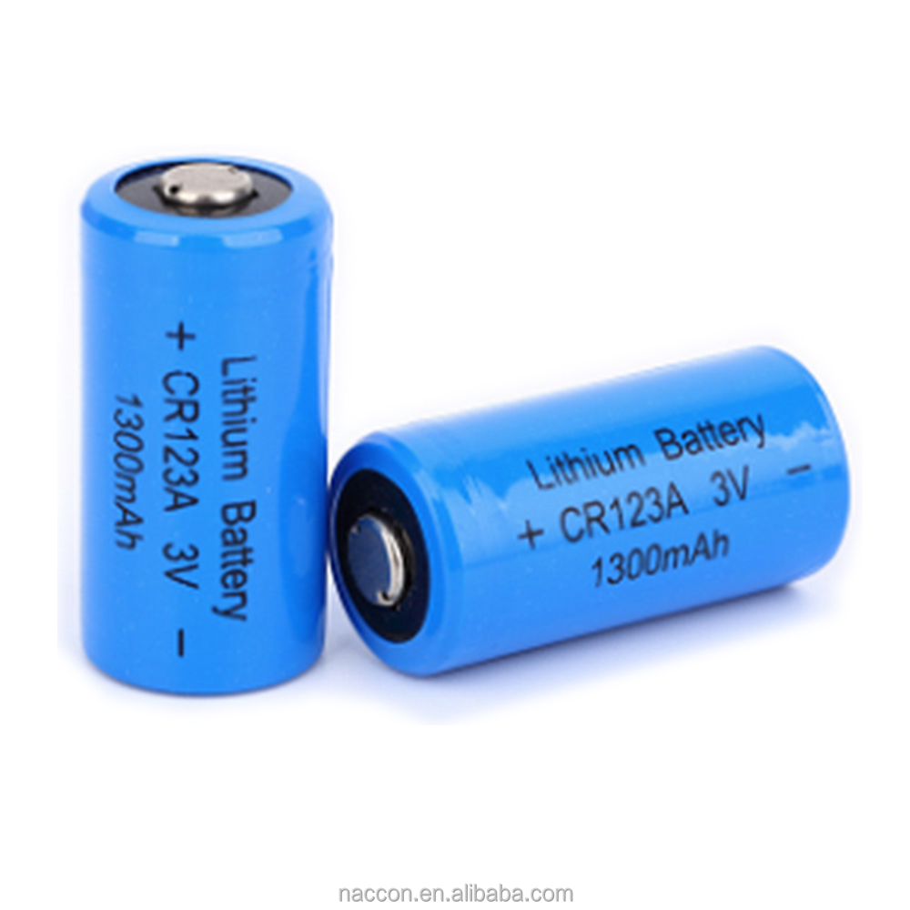 Digital Camera Primary Limno2 Battery 3 Volt Cr 123A Cr123A Cr17345 1500Mah 3V Photo Lithium Battery