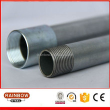 Pre-galvanized steel conduit/rigid metal conduit pipe/RMC/RSC