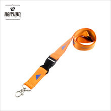 2017 latest true nylon lanyard with plastic safety clip