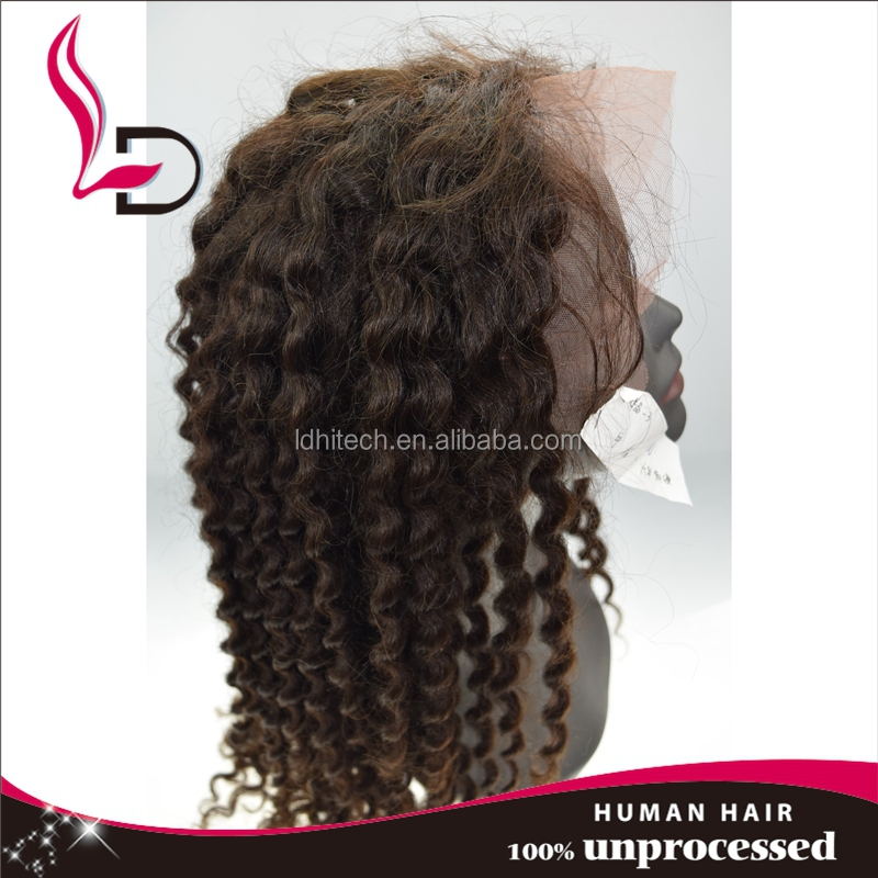 new products 2016 best selling products hair wig tight curly human hair full lace wig