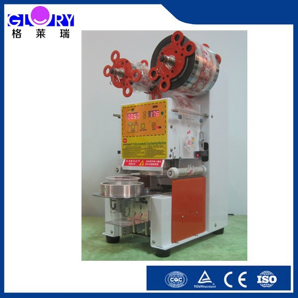 Fully Automatic Desktop Sealing Machine/ New Commercial Automatic Cup Sealing Machine/ Hand Operate Cup Sealing Machine