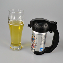 beer promotional items alkaline battery operated beer foamer very portable for celebration party home and outdoor activities