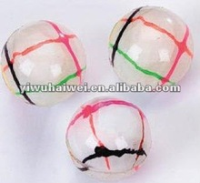 60mm rubber bouncing ball